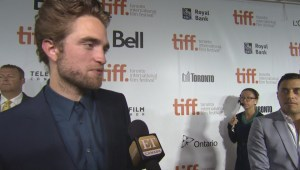 "TIFF Red Carpet: Actor Robert Pattinson from the film ""Maps to the Stars"""